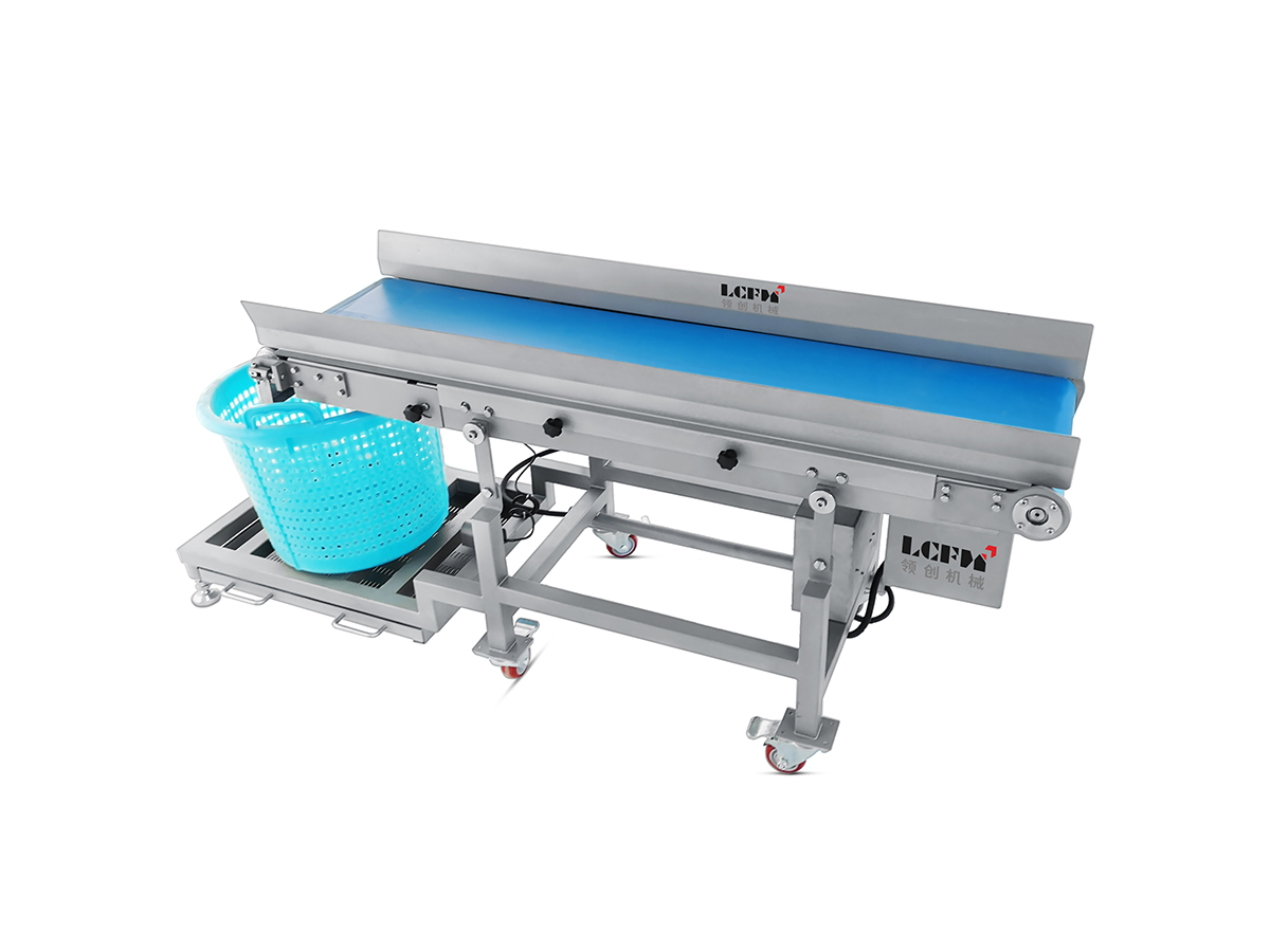 Automatic collection conveyor